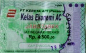 tiket KRL